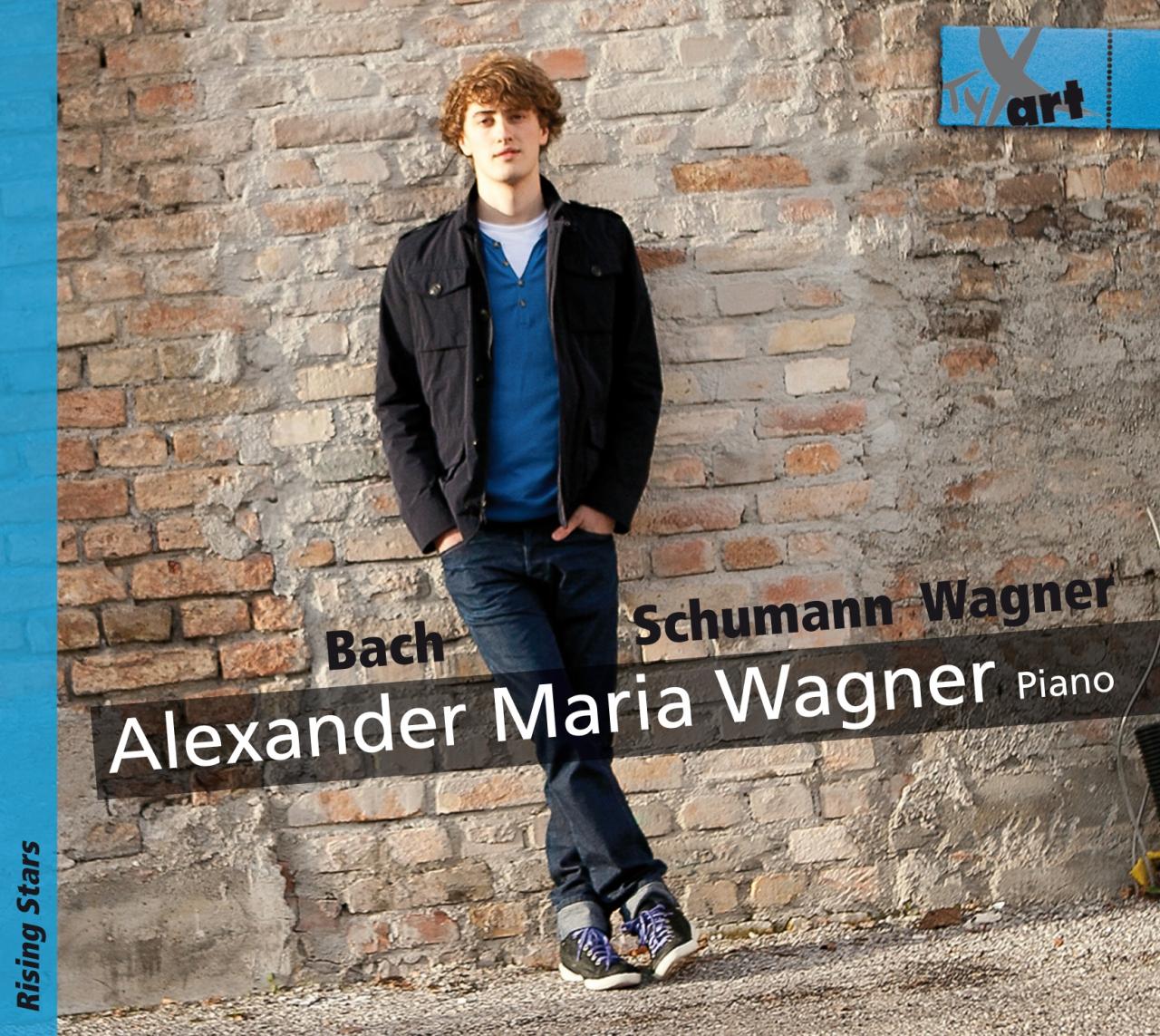 Alexander-Maria-Wagner-Bach-Schumann-Wagner-CD2